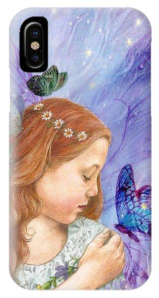 Butterfly Twinkling Fairy IPhone Case