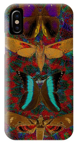 Solar Butterfly IPhone Case