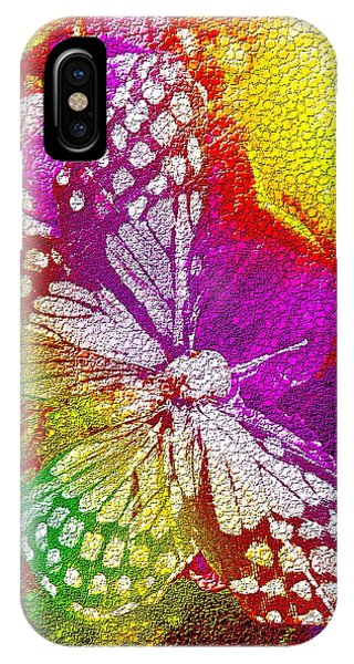 Butterfly World 2 IPhone Case