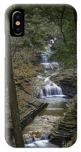 Buttermilk Falls In Autumn IIi IPhone Case