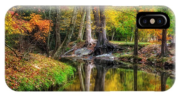 IPhone Case featuring the photograph Butternut Creek In Fall by Greg Mimbs