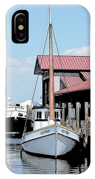 Buy Boat Old Point IPhone Case