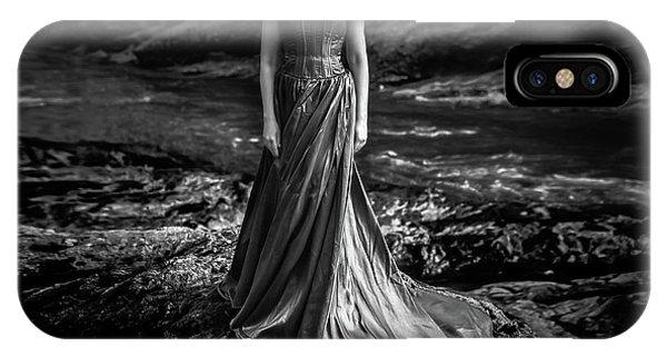 Fairytales iPhone Case - Bw Portrait (black And White ) by Mikhail Potapov