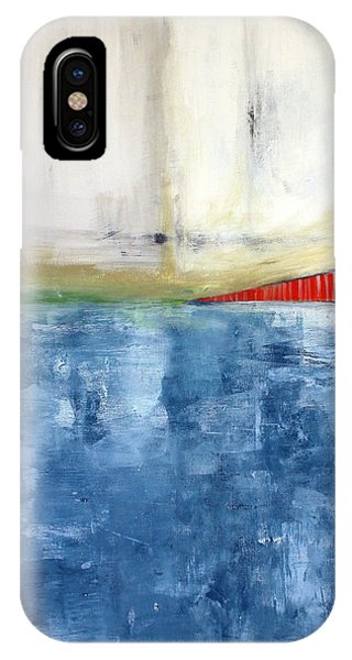 By The Bay- Abstract Art IPhone Case