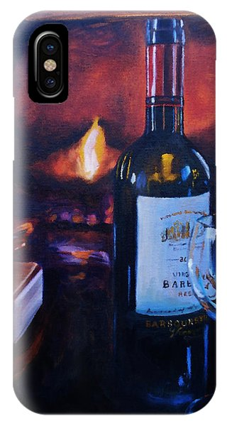 By The Fire IPhone Case