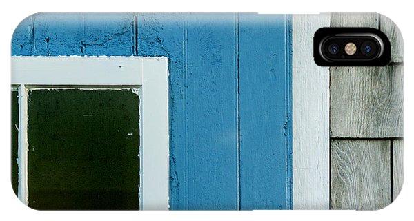 Old Door In Blue IPhone Case