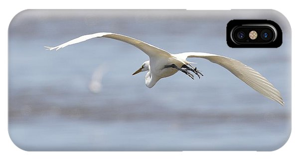 Bye Bye Egret IPhone Case