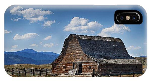 Bygone Days Barn IPhone Case