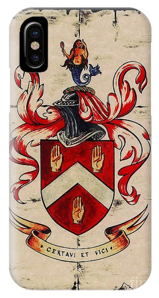 Byrne Coat Of Arms IPhone Case