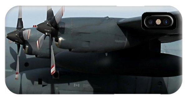Department Of Defense iPhone Case - Lockheed C-130 Hercules Impressive Airbus by Danielle  Parent
