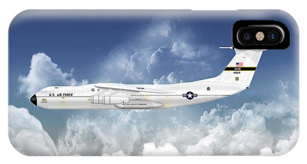 C-141a Starlifter Phone Case by Arthur Eggers
