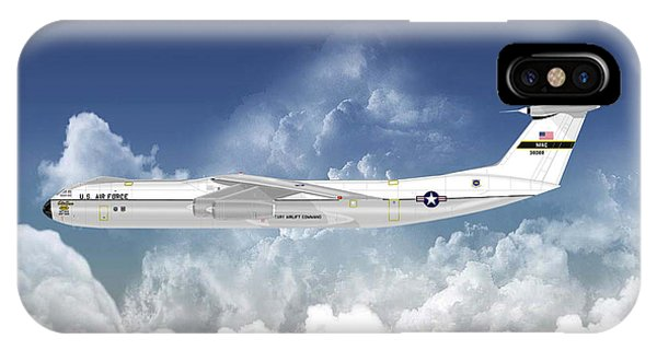 C-141b Starlifter IPhone Case