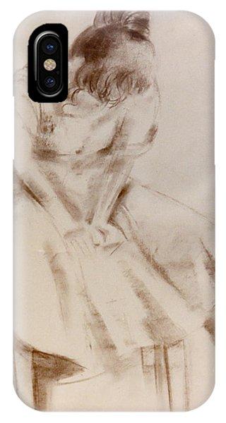 C12. Dancer Resting IPhone Case