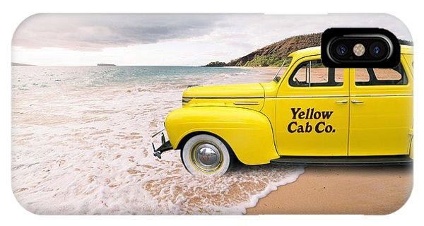 Cab Fare To Maui IPhone Case