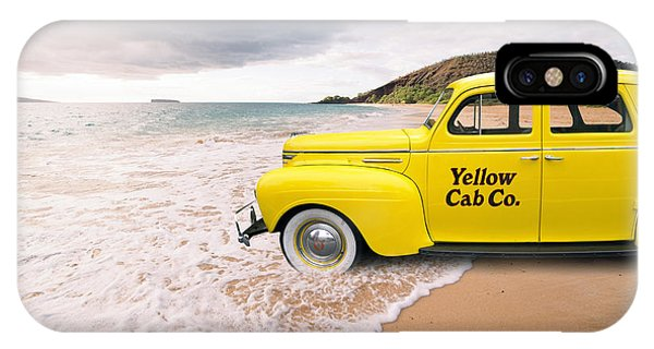 Cab Fare To Maui IPhone Case