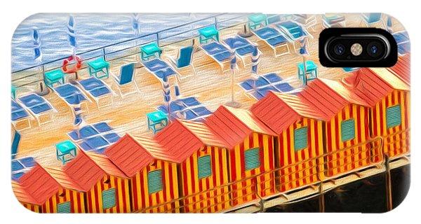 Cabanas Of Sorrento IPhone Case