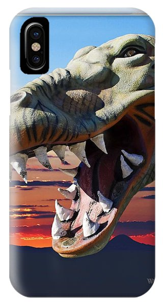 Cabazon Dinosaur IPhone Case