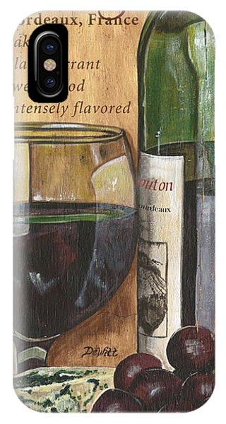 Colorful iPhone Case - Cabernet Sauvignon by Debbie DeWitt