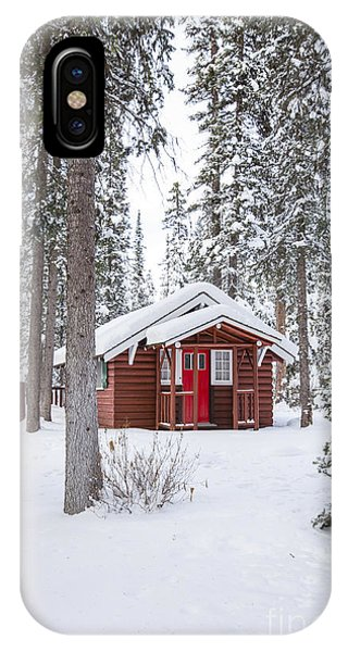 Banff iPhone Case - Cabin Fever by Evelina Kremsdorf