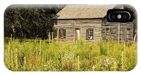 Cabin In The Prairie IPhone Case