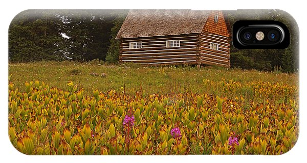Cabin On Grand Mesa IPhone Case