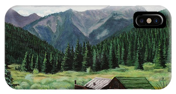 Cabin With A View IPhone Case