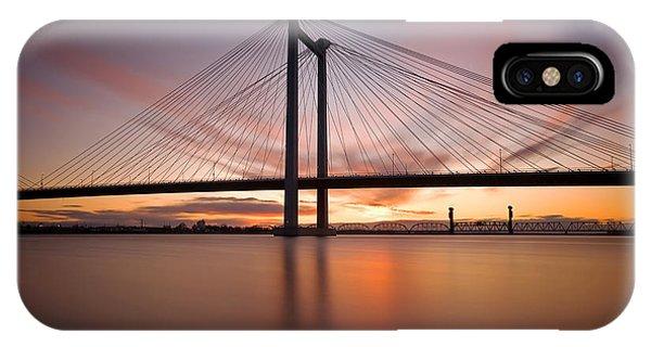 Cable Bridge IPhone Case