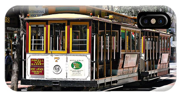 Cable Car - San Francisco IPhone Case