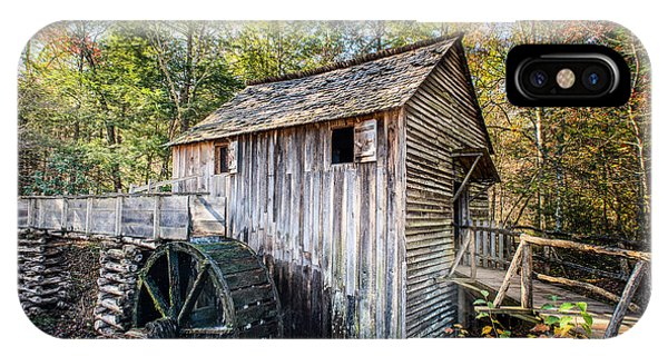 Cable Grist Mill At Cades Cove IPhone Case