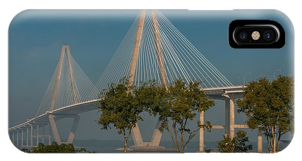 Cable Stayed Bridge IPhone Case
