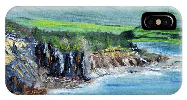Cabot Trail Coastline IPhone Case