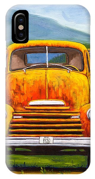Cabover Truck IPhone Case