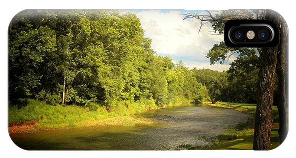 Cacapon River In W Va IPhone Case