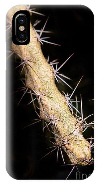 Cactus Branch IPhone Case