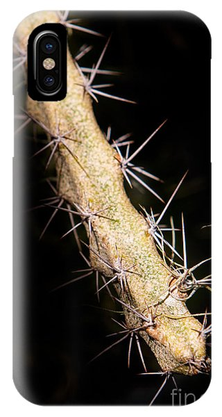 Cactus Branch IPhone Case