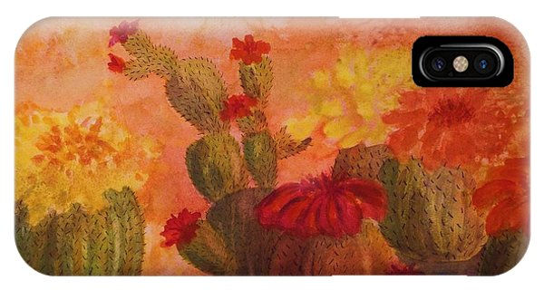 Cactus Garden IPhone Case