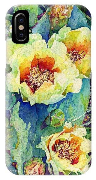 Pear iPhone Case - Cactus Splendor II by Hailey E Herrera