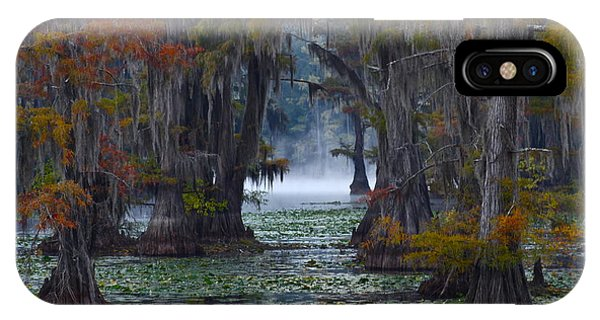 Fog iPhone Case - Caddo Lake Morning by Snow White