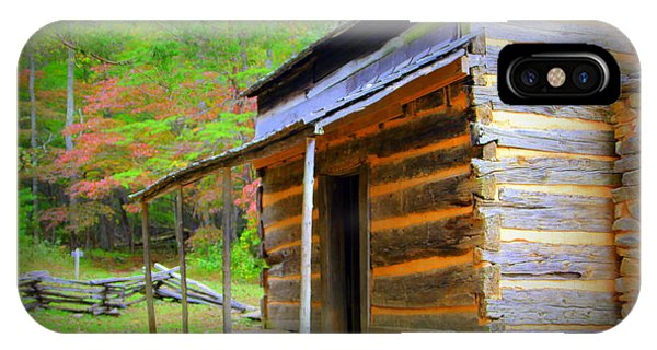 Cades Cove Cabin IPhone Case
