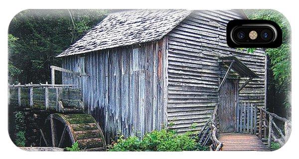 Cades Cove Mill IPhone Case
