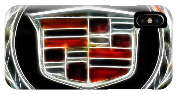 Cadillac Emblem B IPhone Case