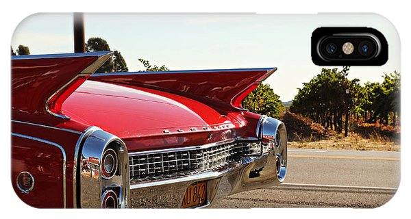 Cadillac In Wine Country  IPhone Case