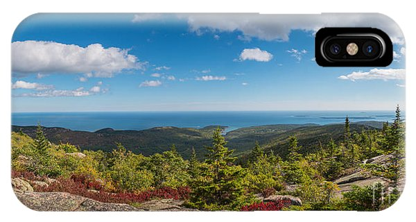 Michael iPhone Case - Cadillac Mountain Panorama 2 by Michael Ver Sprill