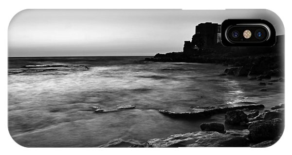 Caesarea  Bw IPhone Case