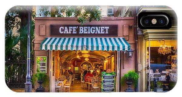 Cafe Beignet Morning Nola IPhone Case
