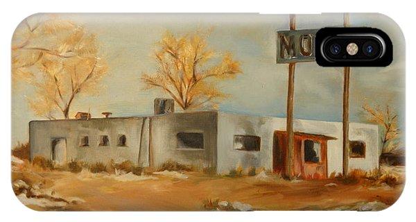 Cafe Motel IPhone Case