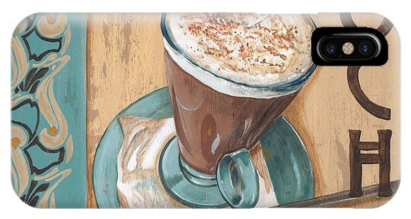Beverage iPhone Case - Cafe Nouveau 1 by Debbie DeWitt