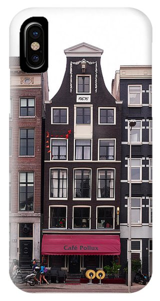 Cafe Pollux Amsterdam IPhone Case