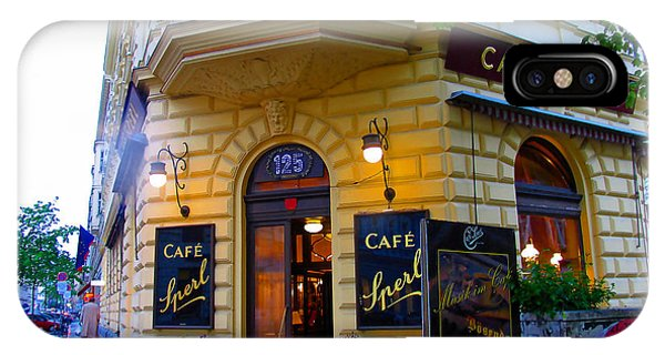Cafe Sperl Vienna IPhone Case