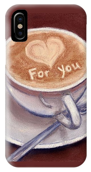 Caffe Latte IPhone Case